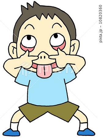 あっかんべーのイラスト素材 - P... あっかんべー (あっかんべー) - Japanese-
