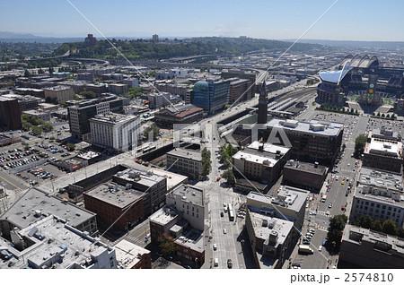 建物 俯瞰 ダウンタウン 球場の写真素材 , PIXTA