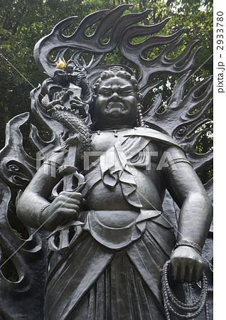 倶利伽羅不動明王の写真素材 Pixta