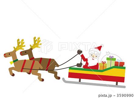 サンタクロース クリスマス トナカイ