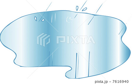 水たまり 6月 イラスト イラストレーションのイラスト素材 Pixta