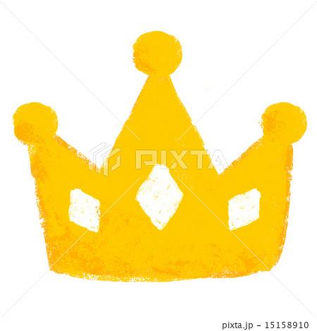 ティアラ 王冠 かわいい イラストの写真素材 Pixta