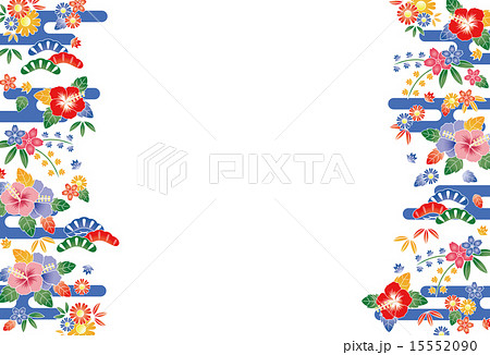 紅型のイラスト素材 Pixta