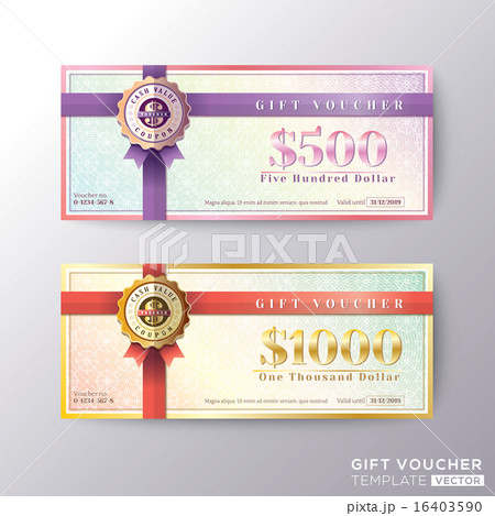 pixta gift certificate voucher coupon card template yelopaper Choice Image