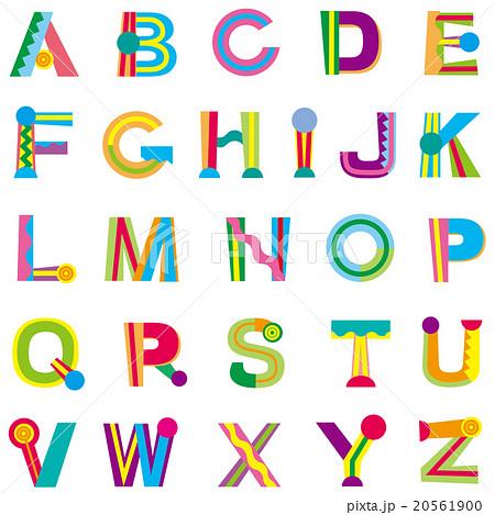 アルファベットの画像イラスト素材 Pixtaピクスタ