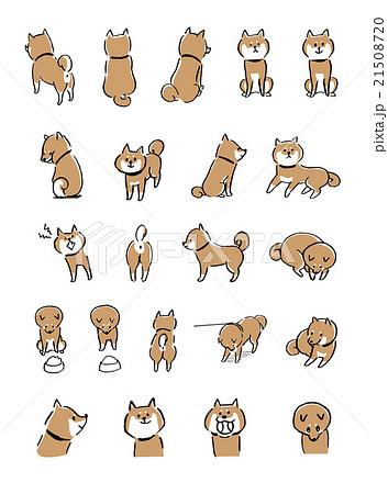 日本犬のイラスト素材 Pixta