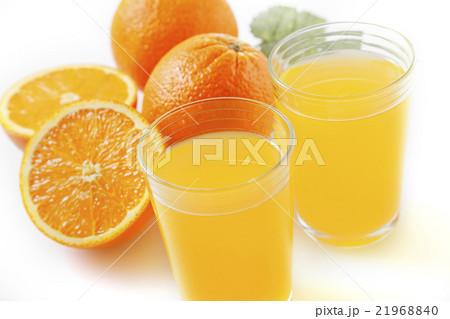 おいしそうなオレンジジュース