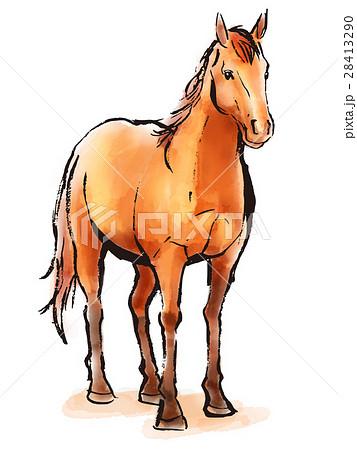 馬のイラスト素材集 Pixtaピクスタ