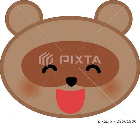 たぬき狸のイラスト素材集 Pixtaピクスタ