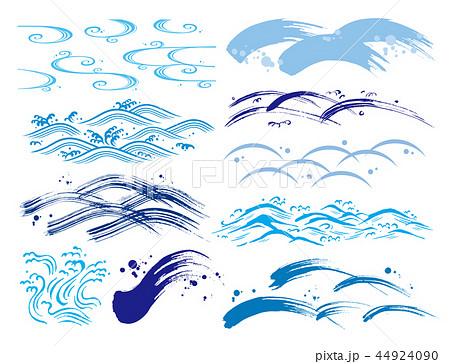 波模様のイラスト素材 Pixta