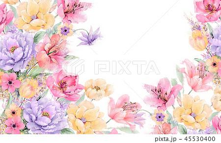 春 優雅 綺麗 イラストのイラスト素材 Pixta