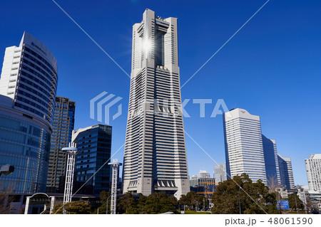 横浜ランドマークタワーの写真素材 Pixta