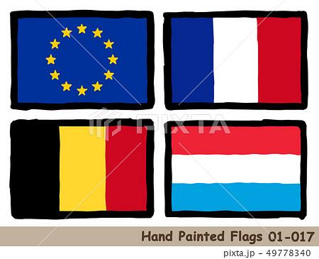 フランス国旗のイラスト素材集 Pixtaピクスタ