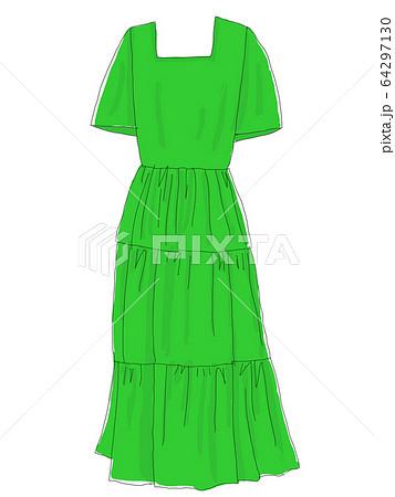 服 衣類 洋服 ワンピースの写真素材