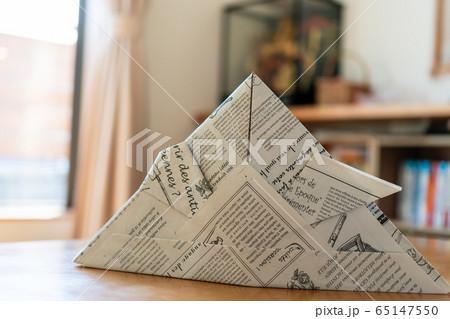新聞紙 かぶと